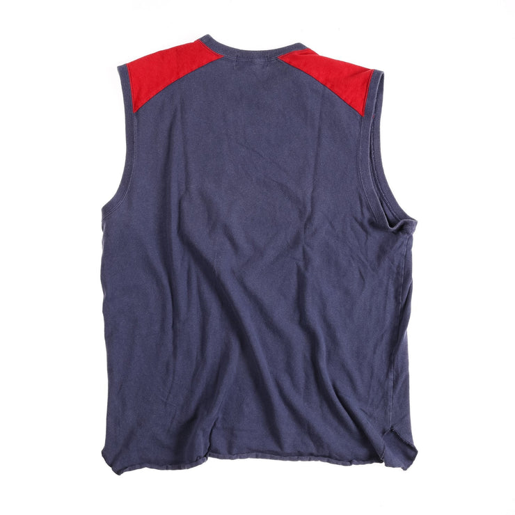 POLO SPORT PS SCRIPT MUSCLE TEE // BLUE RED