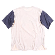 POLO SPORT PS SCRIPT TEE // WHITE BLUE