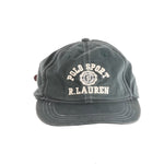 POLO SPORT UNIVERSITY STAMP HAT // GREEN
