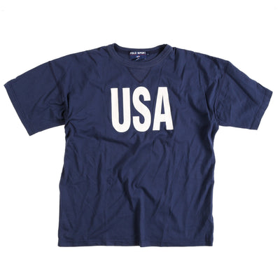 POLO SPORT USA TEE // NAVY