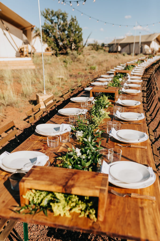 Zion Red Rocks Dinner at Under Canvas | September 7, 2019