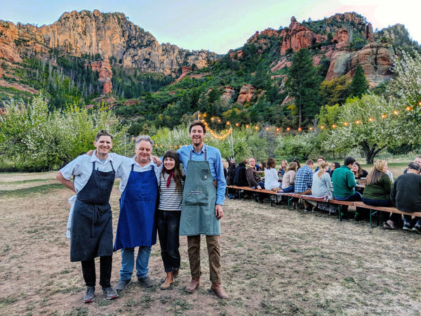 Cloth & Flame Sedona Wilderness Dinner | April 21, 2018