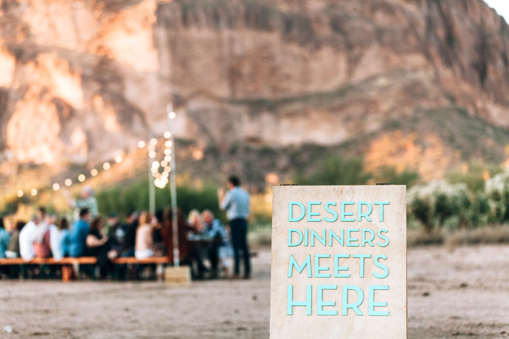Superstition Mountains Dinner | April 5th 2018