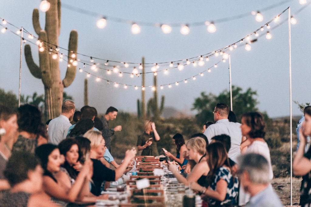 Tucson Desert Dinner at Under Canvas | October 5, 2019