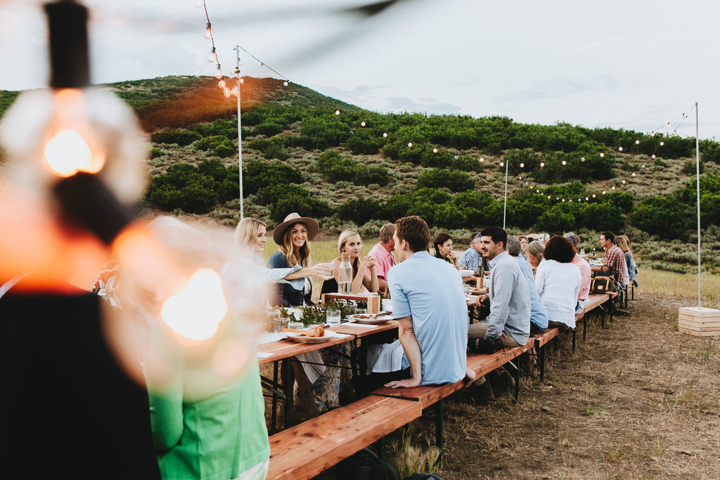 Wilderness Dinner at Under Canvas Grand Canyon | June 22, 2019