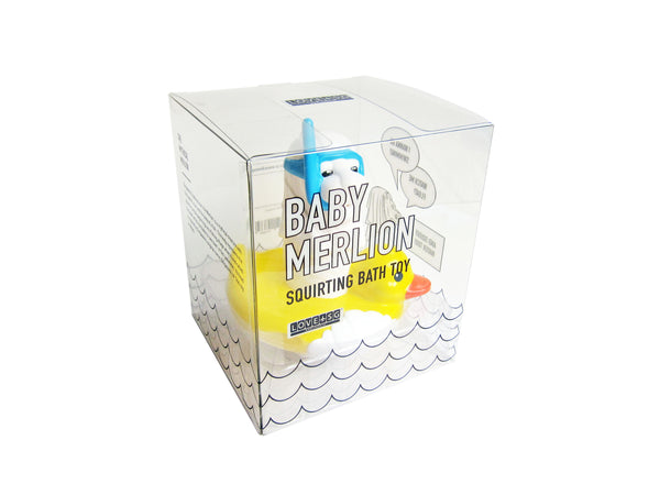 Baby Merlion Bath Toy - LOVE SG