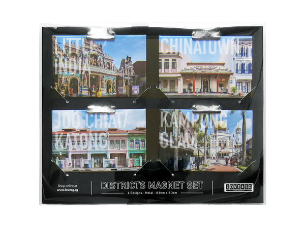 Districts Magnet Set - LOVE SG