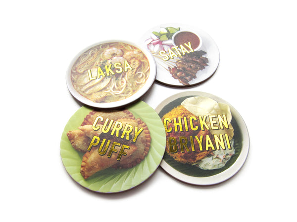 Foodie Coaster Set 1 - LOVE SG