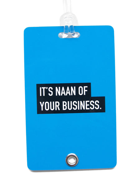 Naan Punny Luggage Tag - LOVE SG