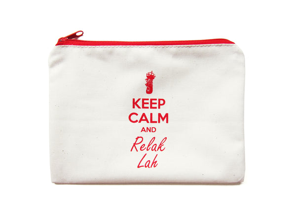 Keep Calm Pouch - LOVE SG