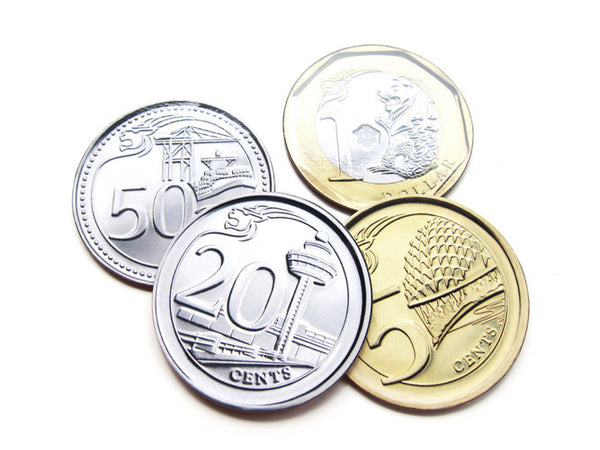 Coins Coaster Set - LOVE SG