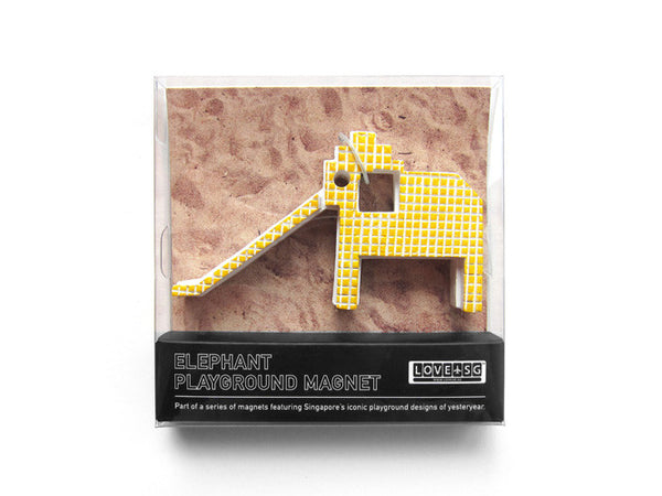 Elephant Playground Magnet - LOVE SG