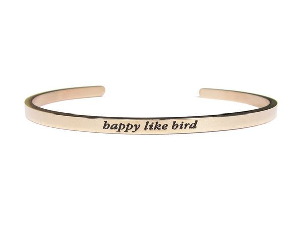 Happy Like Bird Bracelet - LOVE SG