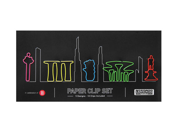 Icons Paper Clip Set - LOVE SG