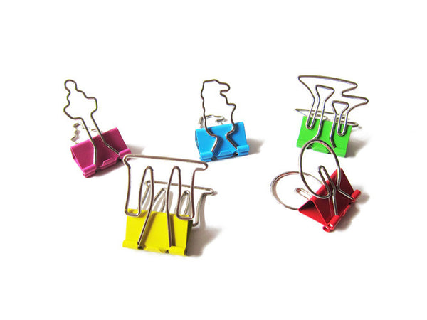 Icons Binder Clip Set - LOVE SG