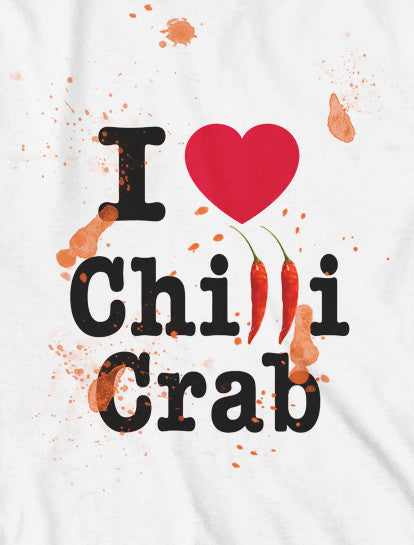 I LOVE Chilli Crab (Women's) - LOVE SG