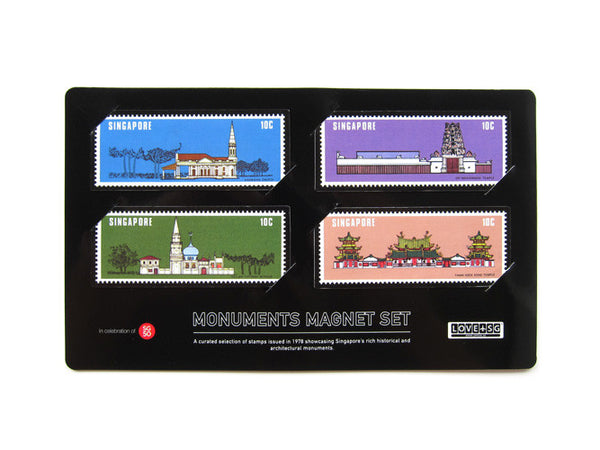 Monuments Magnet Set - LOVE SG