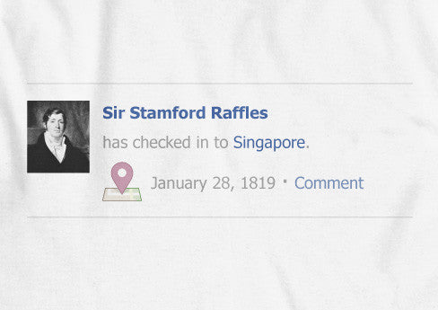 Raffles Check In - LOVE SG