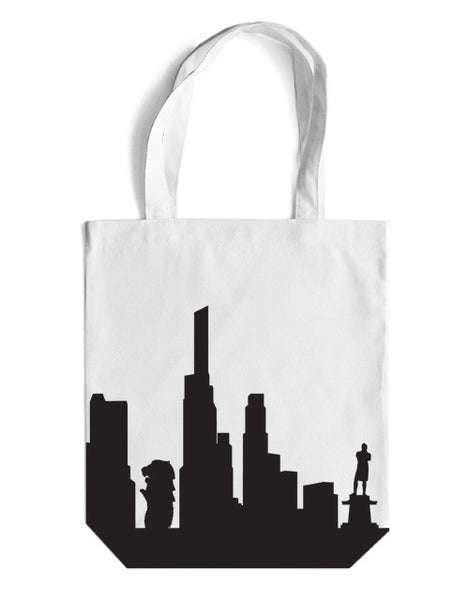 Skyline Canvas Bag - LOVE SG