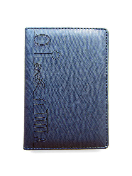Skyline Outline Passport Holder - LOVE SG