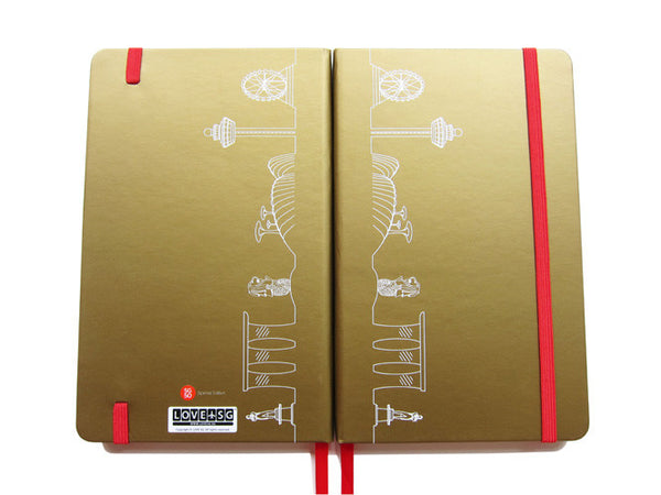 Skyline Outline (SG50 Edition) Notebook - LOVE SG