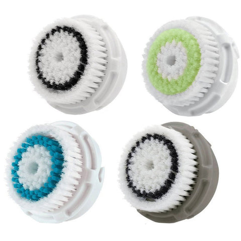 Compatible Sonic Facial Cleansing Replacement Brush Heads Pack 4 in 1