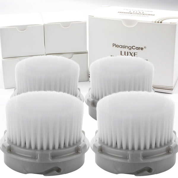 LUXE Compatible Cashmere Cleanse Replacement Facial Brush Heads Pack