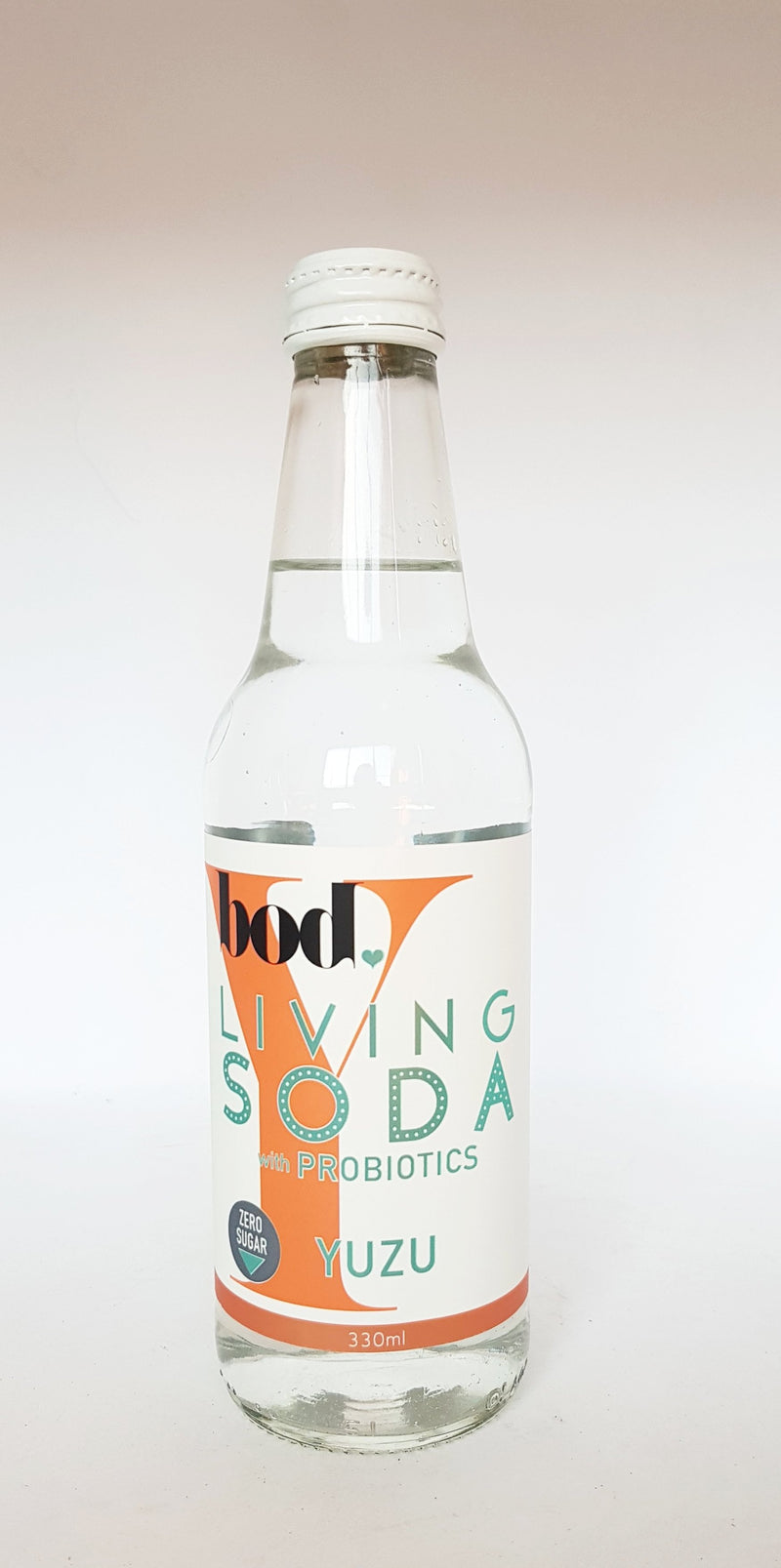 Living Soda Yuzu (zero sugar) 12 X 330ml carton