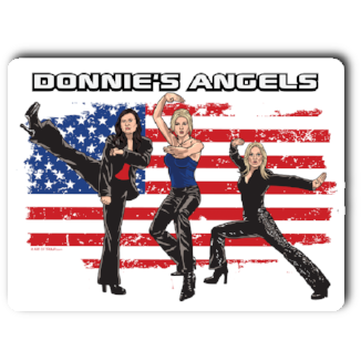 """Donnie's Angels"" Sticker"