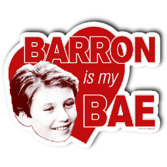 """Barron Is My Bae"" Sticker"