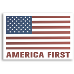 """America First"" Sticker"