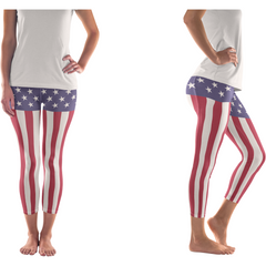 """America the Bootyful"" Leggings"