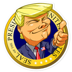 Trump Presidential Seal Sticker