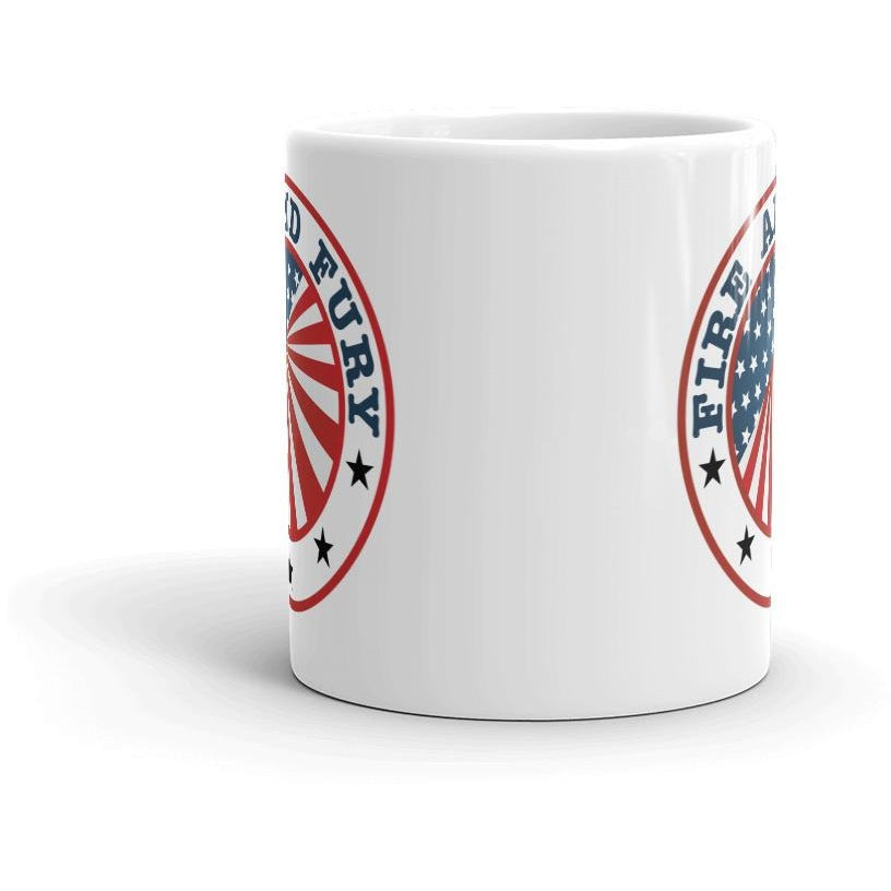 """Fire and Fury"" American-made Mug"