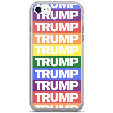 Rainbow Trump iPhone Case