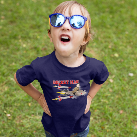 """Rocket Man"" Kids T-Shirt"