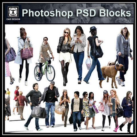 People PSD  Blocks