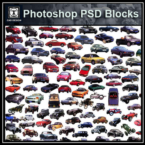 Car PSD  Blocks