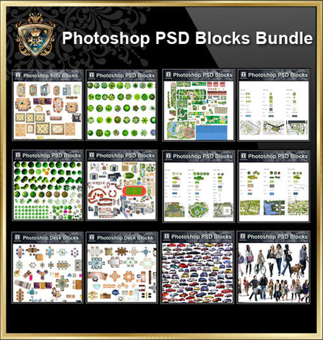 Photoshop PSD Blocks
