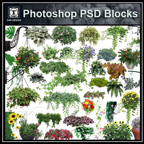 Photoshop PSD Tree Blocks 1
