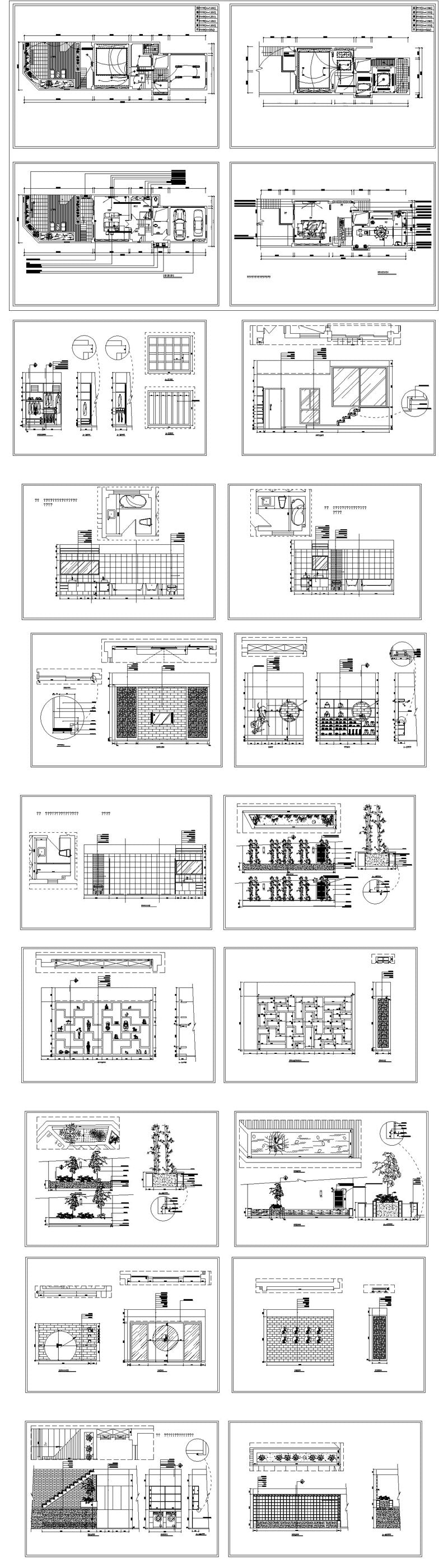 ★【Interior Design CAD Design,Details,Elevation Collection V.2】Residential Building,Layout,Lobby,Room design,Decoration@Autocad Blocks,Drawings,CAD Details,Elevation