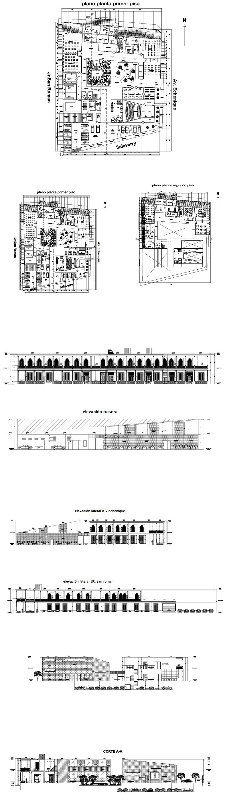 ★【School, University, College,Campus CAD Design Project V.5】@Autocad Blocks,Drawings,CAD Details,Elevation