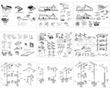 【All Architecture CAD Details Collections】  (Total 40 Best Collections) - CAD Design | Download CAD Drawings | AutoCAD Blocks | AutoCAD Symbols | CAD Drawings | Architecture Details│Landscape Details | See more about AutoCAD, Cad Drawing and Architecture Details
