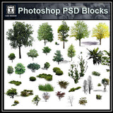 Photoshop PSD Landscape Tree 8
