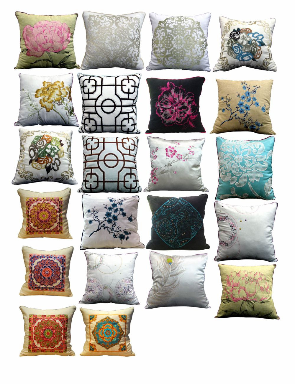 Photoshop PSD Blocks -Pillow Blocks