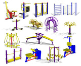 Photoshop PSD Children's Play Equipment 1