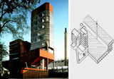 University of Leicester-James Stirling - CAD Design | Download CAD Drawings | AutoCAD Blocks | AutoCAD Symbols | CAD Drawings | Architecture Details│Landscape Details | See more about AutoCAD, Cad Drawing and Architecture Details
