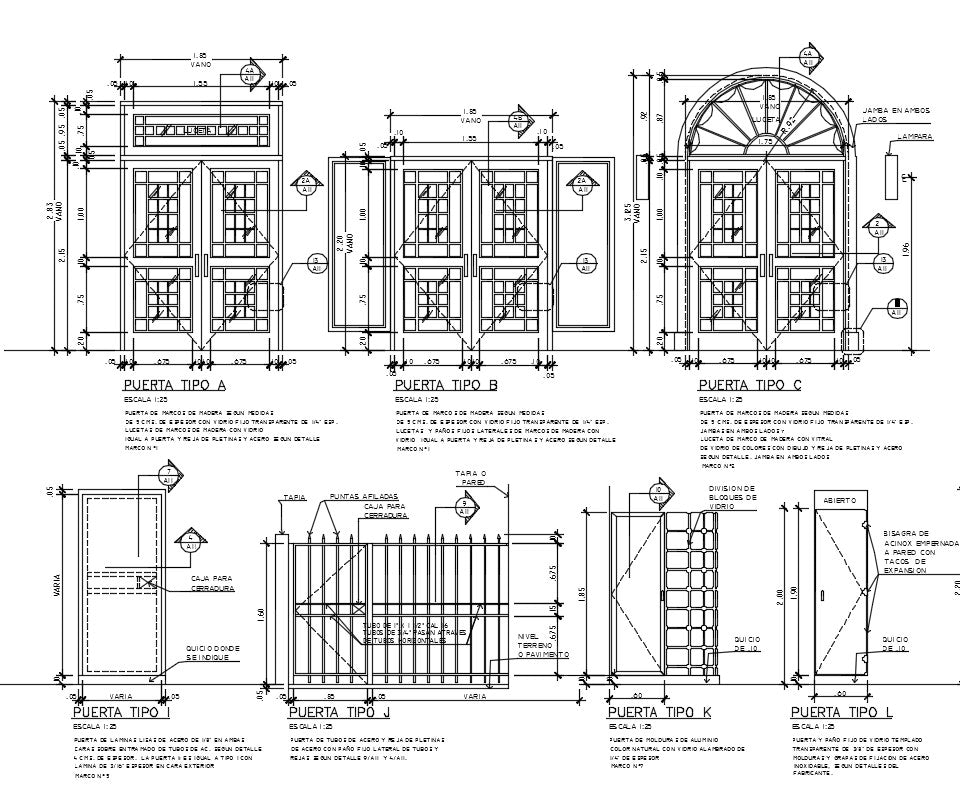 Steel door and window CAD Design Free CAD BlocksDrawingsDetails