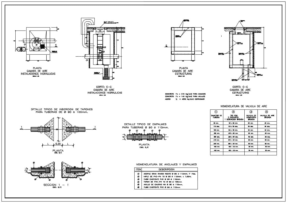 Plumbing Design in autocad dwg files