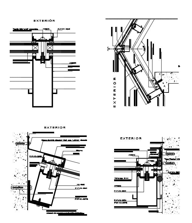 Roof Section Drawing & Building Sections Typically Drawn